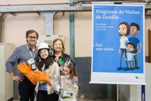 Visita de Família Vale do Rio Doce VRD
